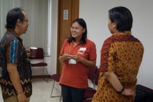 ランチタイムも、参加者・ゲスト間の交流が進みます。